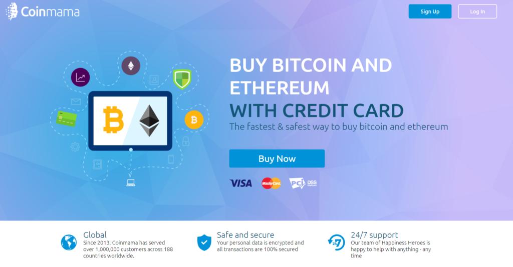 comprar criptomonedas con tarjeta de crédito coinmama