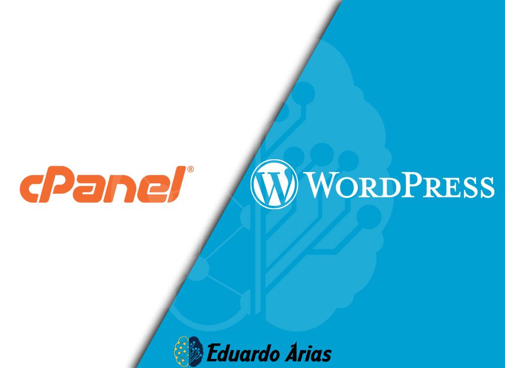 Instalar wordpress en Cpanel ⚡ | 3 pasos |Administra tu sitio ✅